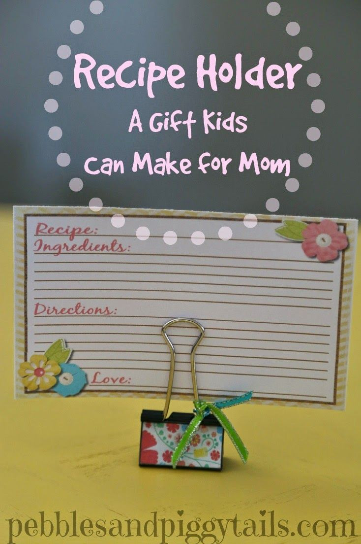 Mothers Day Recipe Craft 25 unique Recipe holder ideas on Pinterest