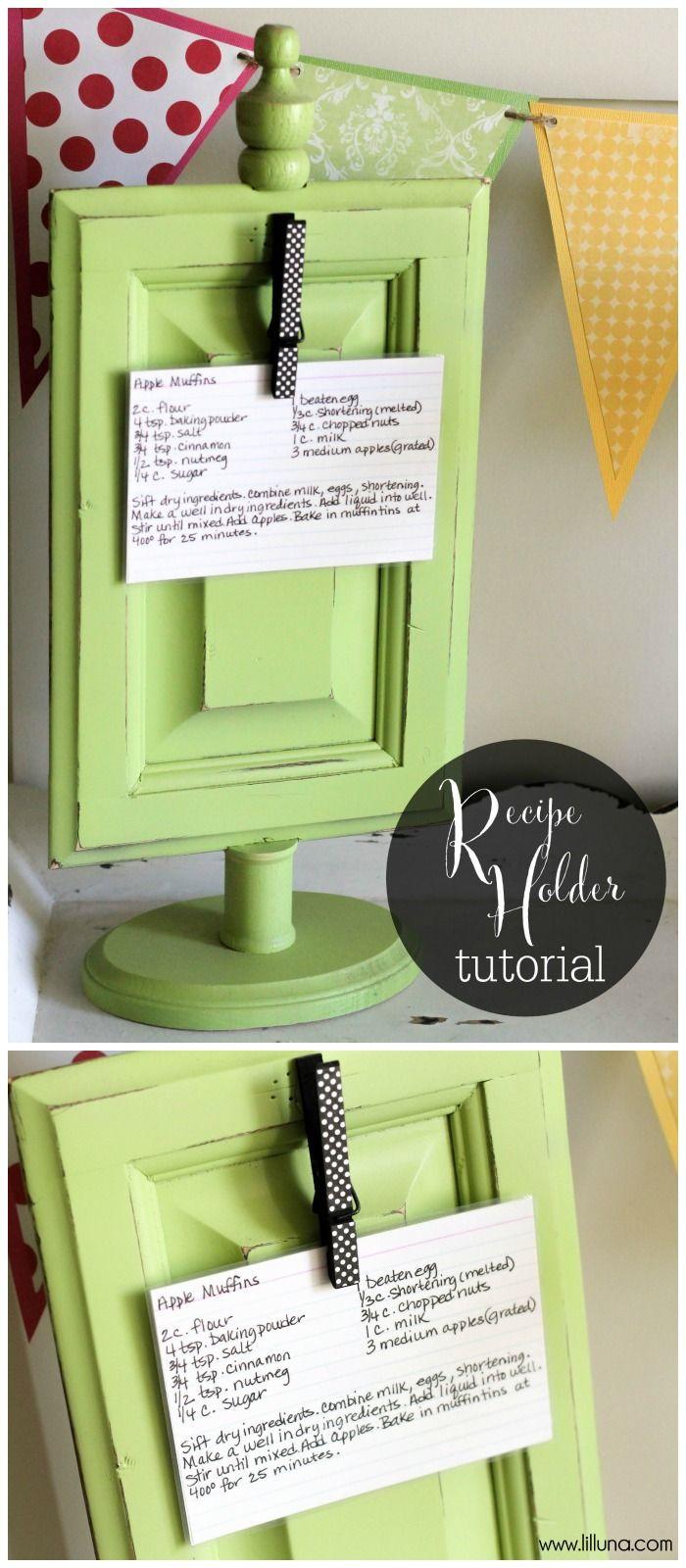 Mothers Day Recipe Craft Best 25 Recipe holder ideas on Pinterest