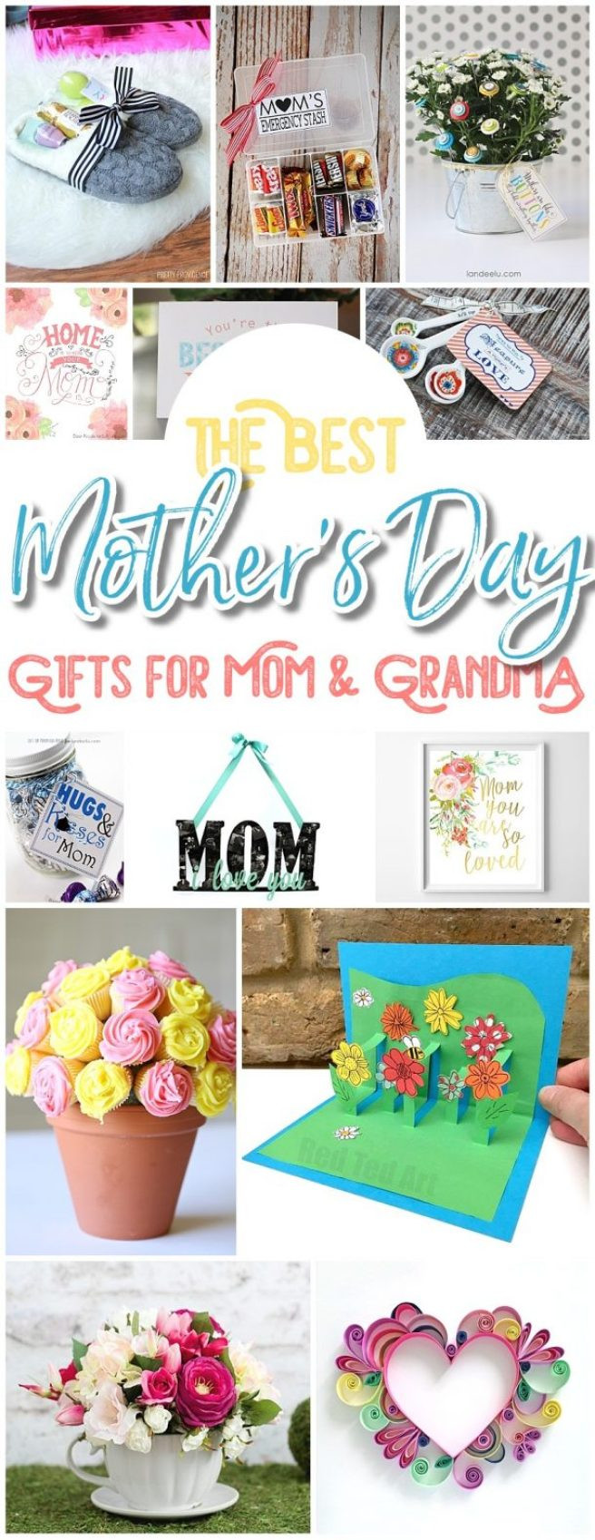 Mothers Day Recipe Craft The BEST Easy DIY Mother's Day Gifts and Treats Ideas