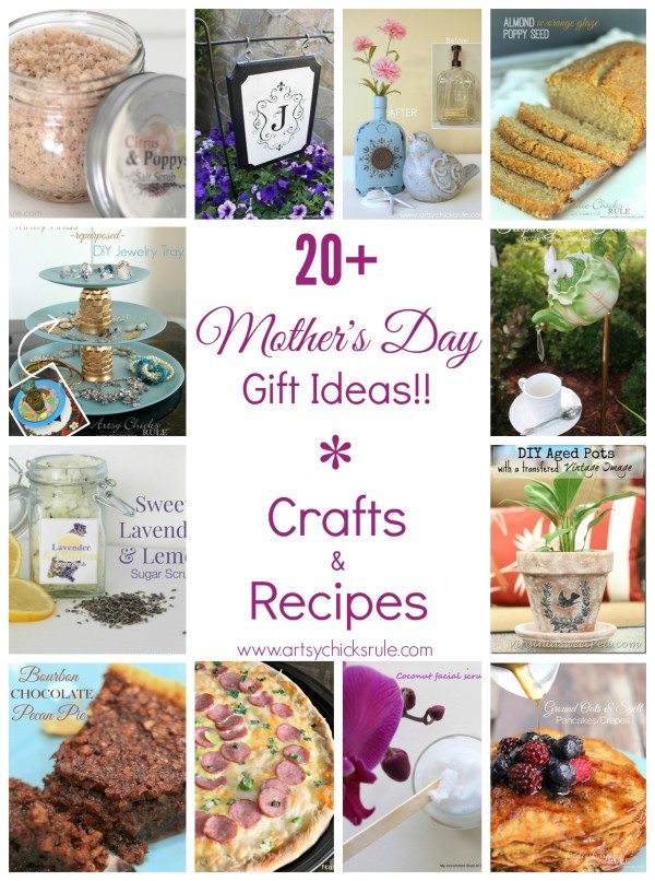 Mothers Day Recipe Craft Mother s Day Gift Ideas Simple Personalized Crafts