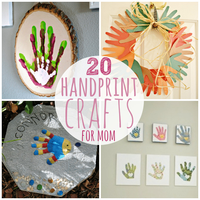 Mothers Day Recipe Craft 20 Handprint Crafts for Mother s Day