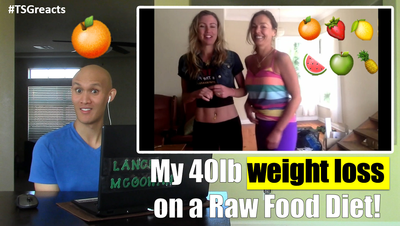 Raw Food Diet Weight Loss My 40lb weight loss on a Raw Food Diet Before & After