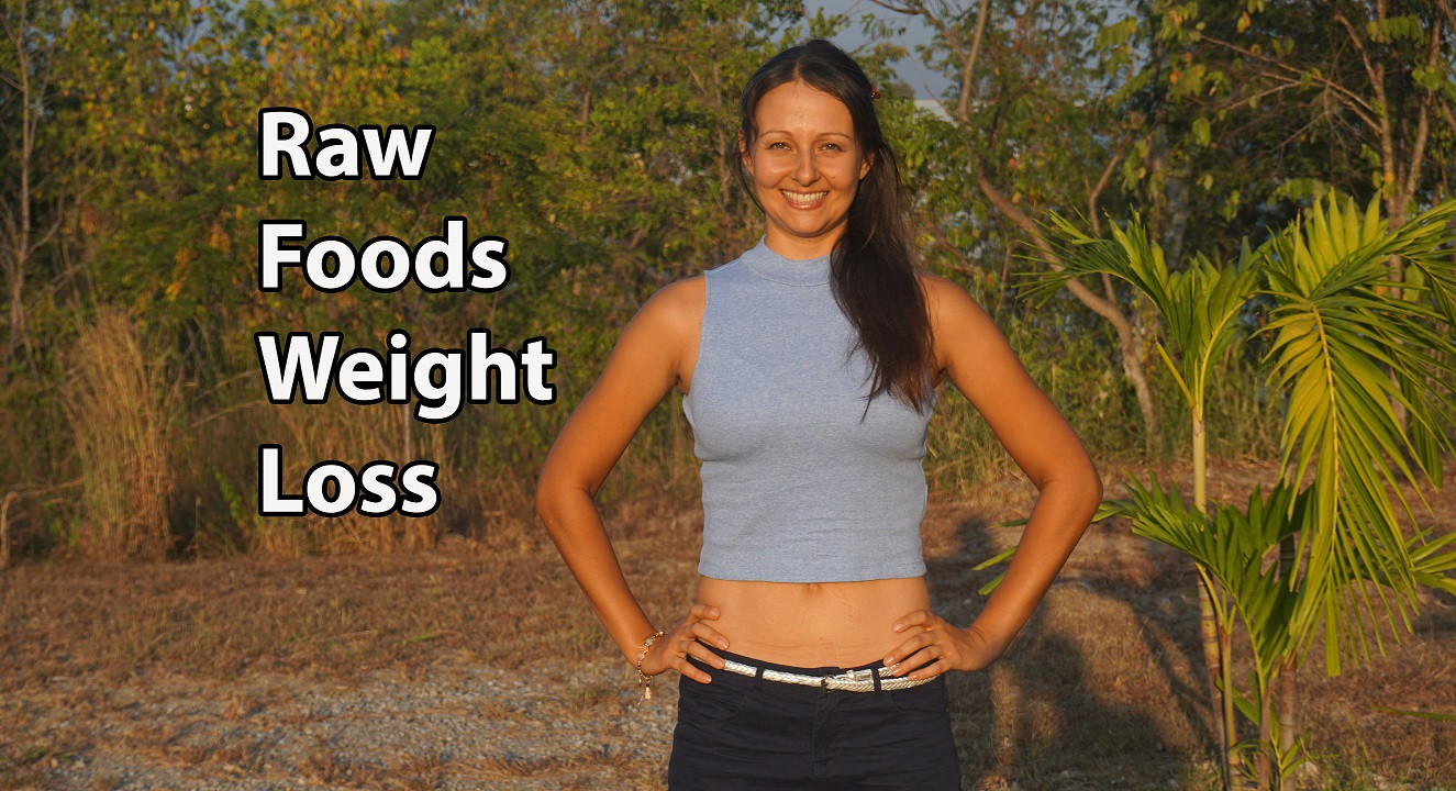 Raw Food Diet Weight Loss Raw food weight loss before and after over 6 years with