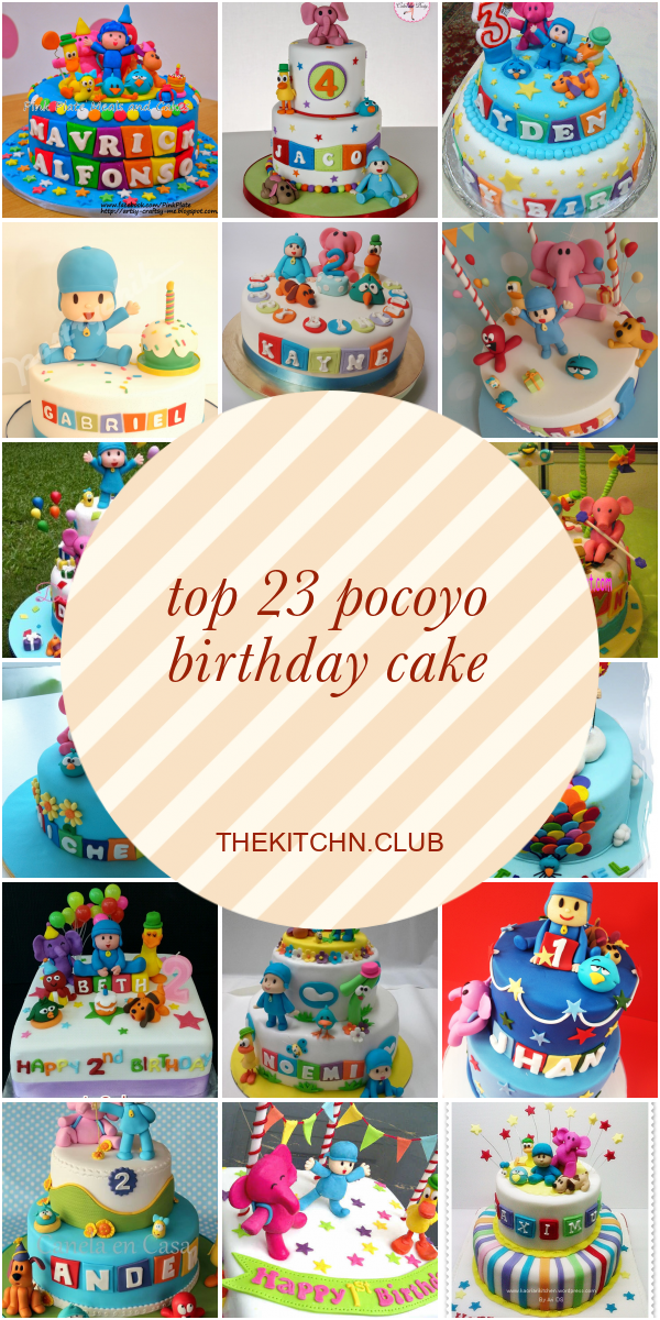 Terrific Pocoyo Birthday Cake Ideas Archives Best Round Up Recipe Collections Funny Birthday Cards Online Elaedamsfinfo